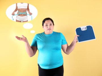 駒沢パーソナルトレーニングジムで体重に悩む女性