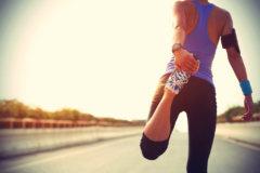 女性準備運動