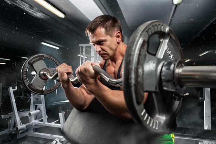 筋肉量と部位(ダイエット専門曙橋パーソナルトレーニング ジム)の画像