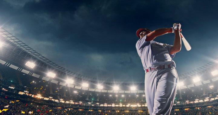 野球で使う筋肉の画像