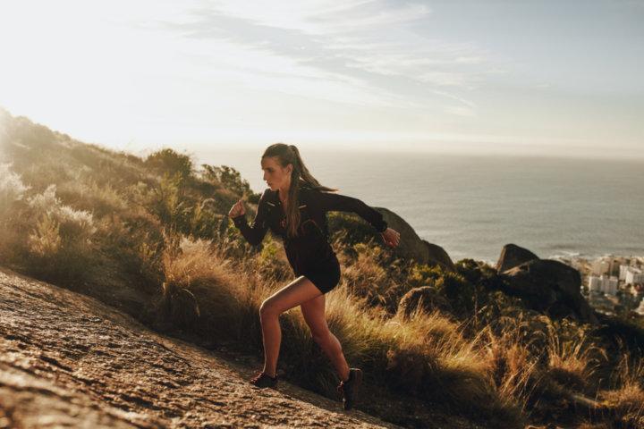 身近なもの「坂」で簡単トレーニングの画像