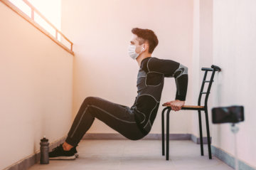 イスで行えるトレーニングの画像