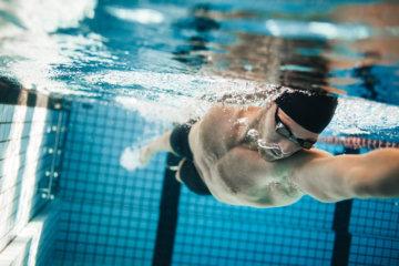 水泳で使う筋肉の画像