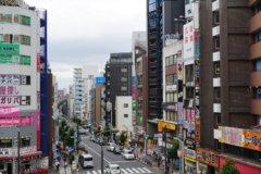 高円寺商店街をウォーキングしてエネルギー消費3
