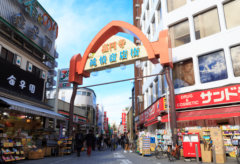 高円寺商店街をウォーキングしてエネルギー消費1