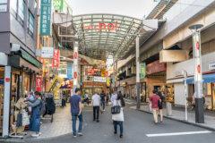 高円寺商店街をウォーキングしてエネルギー消費2
