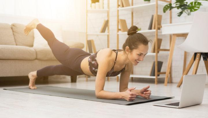 身近なもの「床」で簡単トレーニングの画像