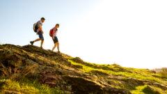『坂道を下りる方が筋肉の負荷が大きい?』ウエスト引き締め