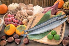 『秋の味覚で栄養を摂って健康になろう!』ウエスト引き締め