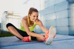 『ストレッチによる筋肉の柔軟性向上のしくみ』ウエスト引き締め