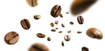 浅煎りと深煎りコーヒー