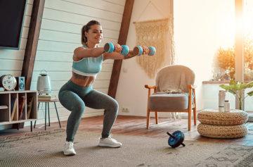 パーソナルトレーナーが解説自宅でのトレーニング(ダイエット専門駒沢大学パーソナル ジム)の画像