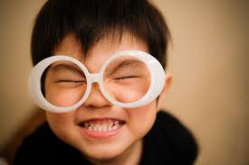 笑顔な少年