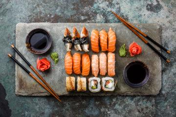 お寿司とダイエット(ダイエット専門曙橋パーソナルトレーニング ジム)の画像