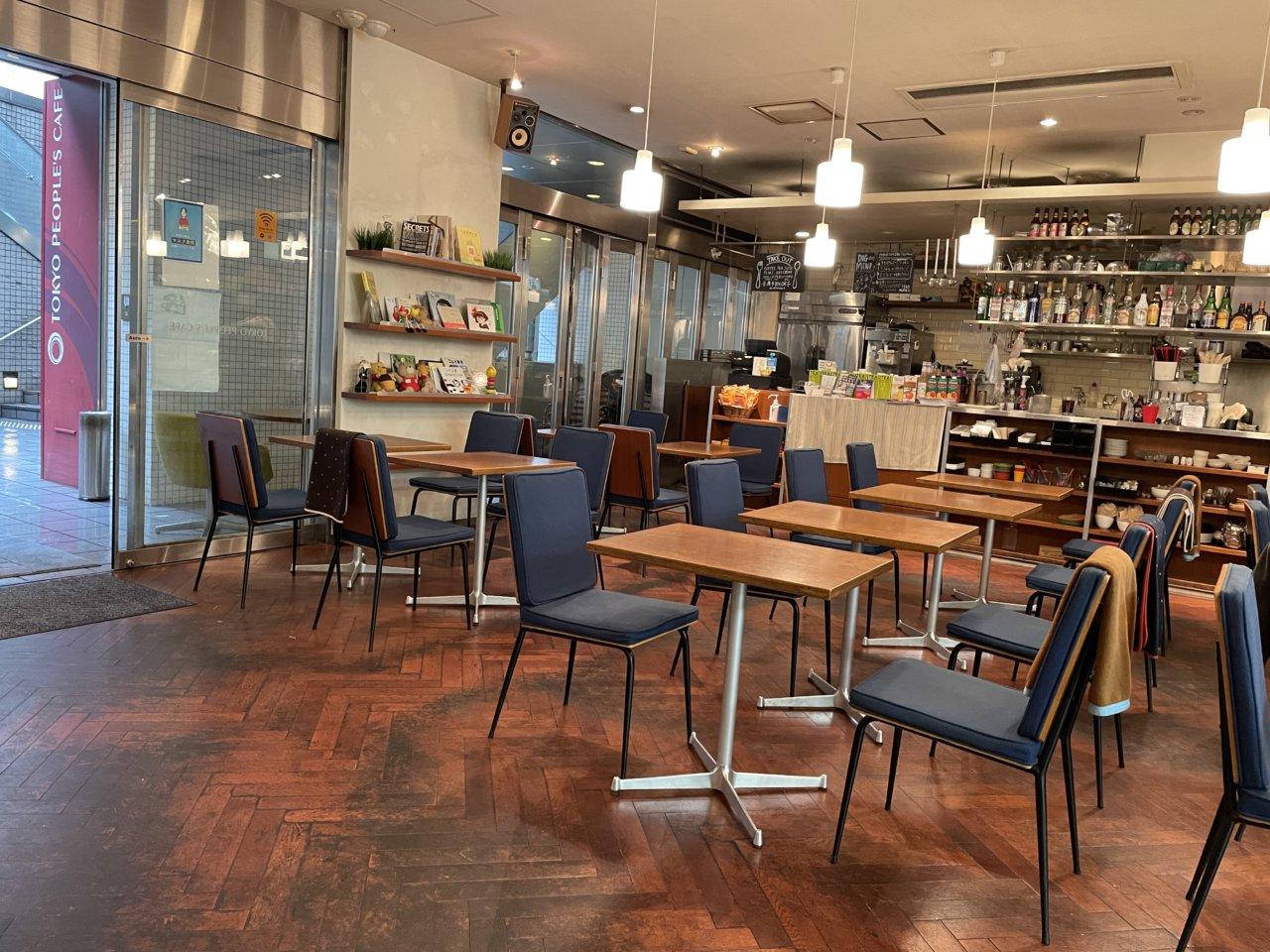 トレーナーおすすめカフェ『TOKYO PEOPLE'S CAFE 駒沢店』(ダイエット専門駒沢大学パーソナルトレーニング ジム)の画像